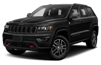 2020 Jeep Grand Cherokee - Diamond Black Crystal Pearl