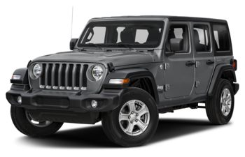 2020 Jeep Wrangler Unlimited - Billet Silver Metallic
