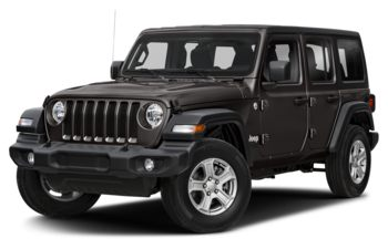 2018 Jeep Wrangler Unlimited - Granite Crystal Metallic