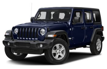 2020 Jeep Wrangler Unlimited - Ocean Blue Metallic