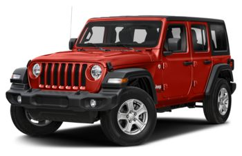 2018 Jeep Wrangler Unlimited - Firecracker Red