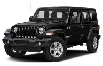 2020 Jeep Wrangler Unlimited - Black