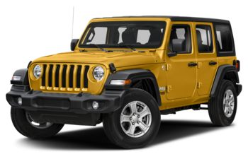 2020 Jeep Wrangler Unlimited - Hellayella