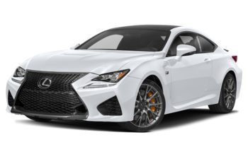 2019 Lexus RC F - Ultra White