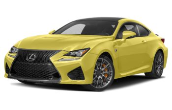 2019 Lexus RC F - Flare Yellow