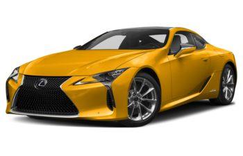 2021 Lexus LC 500h - Flare Yellow