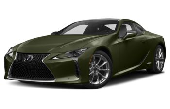 2021 Lexus LC 500h - Nori Green Pearl
