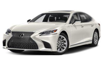 2019 Lexus LS 500 - Eminent White Pearl