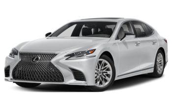 2019 Lexus LS 500 - Liquid Platinum