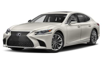 2020 Lexus LS 500h - Eminent White Pearl