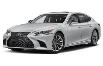 2020 Lexus LS 500h - Liquid Platinum