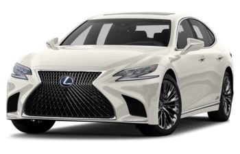 2018 Lexus LS 500h - Eminent White Pearl