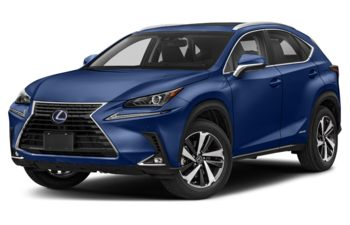 2020 Lexus NX 300h - Blue Vortex Metallic