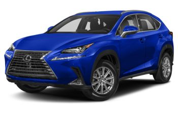 2021 Lexus NX 300 - Ultrasonic Blue Mica 2.0