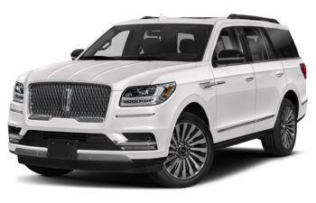2019 Lincoln Navigator - Ceramic Pearl Metallic Tri-Coat