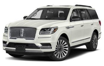 2019 Lincoln Navigator L - White Platinum Metallic Tri-Coat