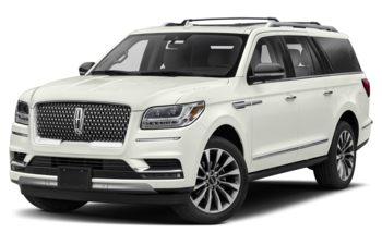 2019 Lincoln Navigator L - White Platinum Metallic Tri-Coat