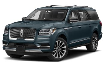 2020 Lincoln Navigator L - Blue Diamond Metallic