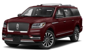 2020 Lincoln Navigator L - Burgundy Velvet Metallic Tinted Clearcoat