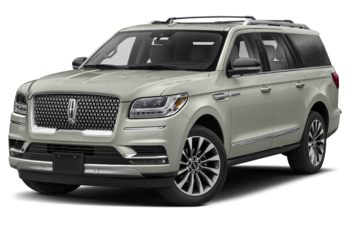 2020 Lincoln Navigator L - Ceramic Pearl Metallic Tri-Coat