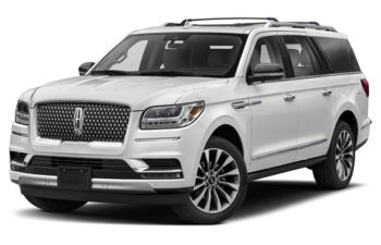 2020 Lincoln Navigator L - Pristine White Metallic Tri-Coat