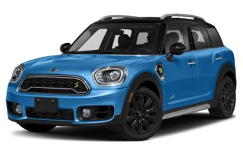 2019 Mini E Countryman - Island Blue Metallic