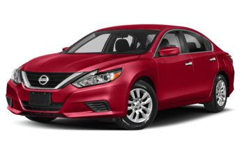 2018 Nissan Altima - Scarlet Ember