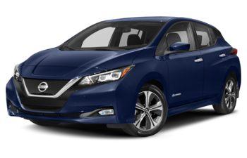 2019 Nissan LEAF - Deep Blue Pearl