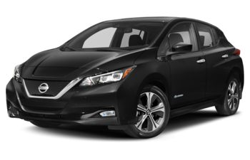 2021 Nissan LEAF - Super Black