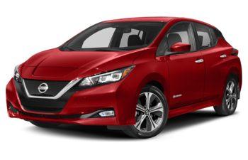 2019 Nissan LEAF - Scarlet Ember