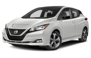 2019 Nissan LEAF - Pearl White/Super Black Roof