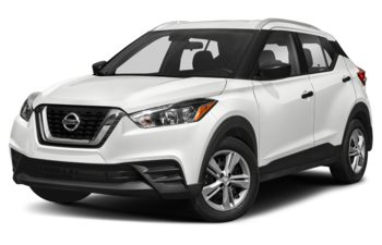 2019 Nissan Kicks - Aspen White/Super Black