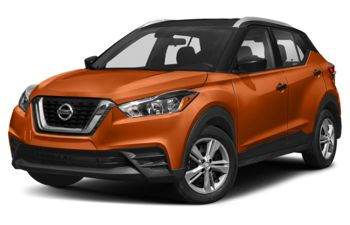 2019 Nissan Kicks - Cayenne Red/Super Black
