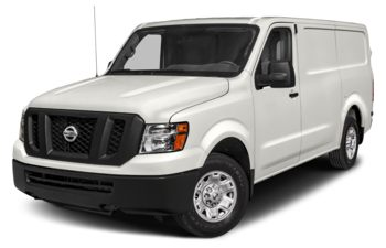 2021 Nissan NV Cargo NV1500 - Glacier White