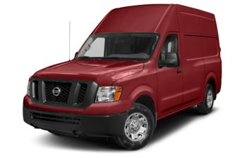 2019 Nissan NV Cargo NV2500 HD - Cayenne Red Metallic