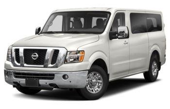 2019 Nissan NV Passenger NV3500 HD - Glacier White