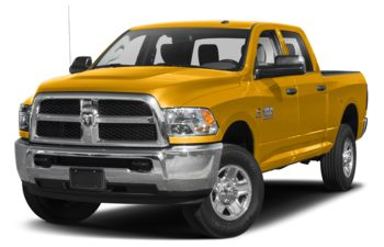 2018 RAM 3500 - Construction Yellow
