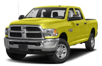 2018 RAM 3500 - National Safety Yellow