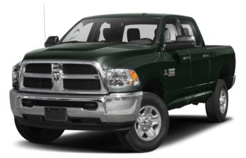 2018 RAM 3500 - Black Forest Green Pearl