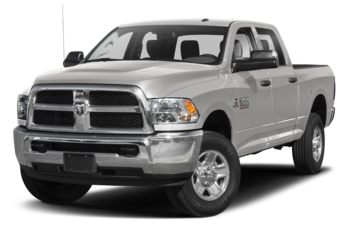 2018 RAM 3500 - Bright Silver Metallic