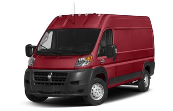 2018 RAM ProMaster 2500 - Flame Red