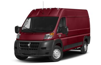 2018 RAM ProMaster 2500 - Deep Cherry Red Crystal Pearl