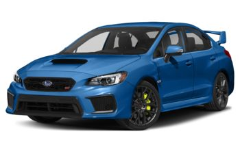 2018 Subaru WRX STI - World Rally Blue Pearl