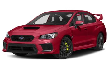 2019 Subaru WRX STI - Pure Red