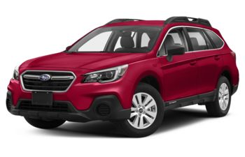2018 Subaru Outback - Crimson Red Pearl