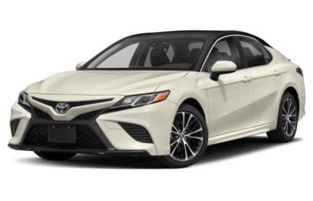 2018 Toyota Camry - Platinum White Pearl w/Black Roof