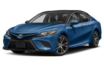2018 Toyota Camry - Blue Streak Metallic w/Black Roof