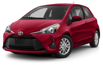 2018 Toyota Yaris - Absolutely Red