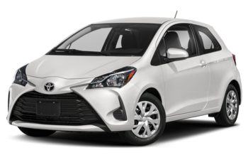 2018 Toyota Yaris - Alpine White