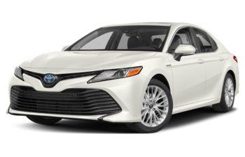 2019 Toyota Camry Hybrid - Super White